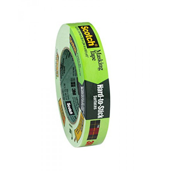 3M 2060A Masking Tape for Hard-to-Stick Surfaces - Green 50mmx50m