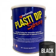 Plasti Dip Spray Gallon Black Mat