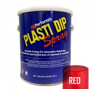Plasti Dip Spray Gallon Red Mat