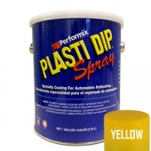 Plasti Dip Spray Gallon Yellow Mat