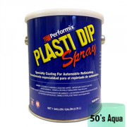 Plasti Dip Spray Gallon 50's Aqua Mat