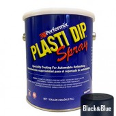 Plasti Dip Spray Gallon Black & Blue Mat
