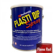 Plasti Dip Spray Gallon Flame Red Mat